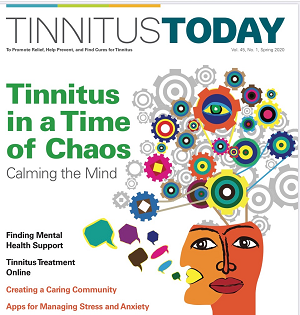 Tinnitus Today - Time of Corona Virus