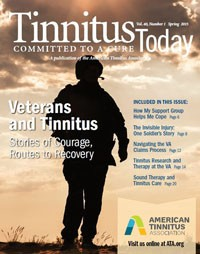 Tinnitus Today Cover Spring 2015